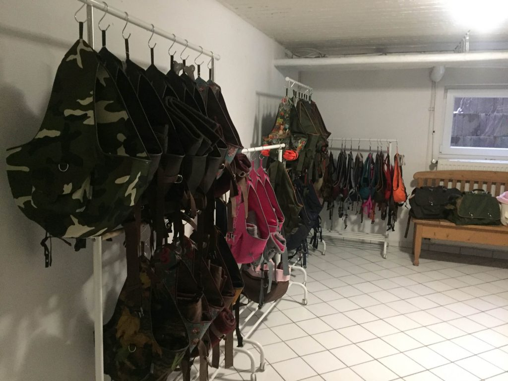 Showroom Hunderucksack