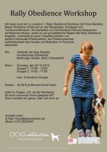 DOG Solution Workshop